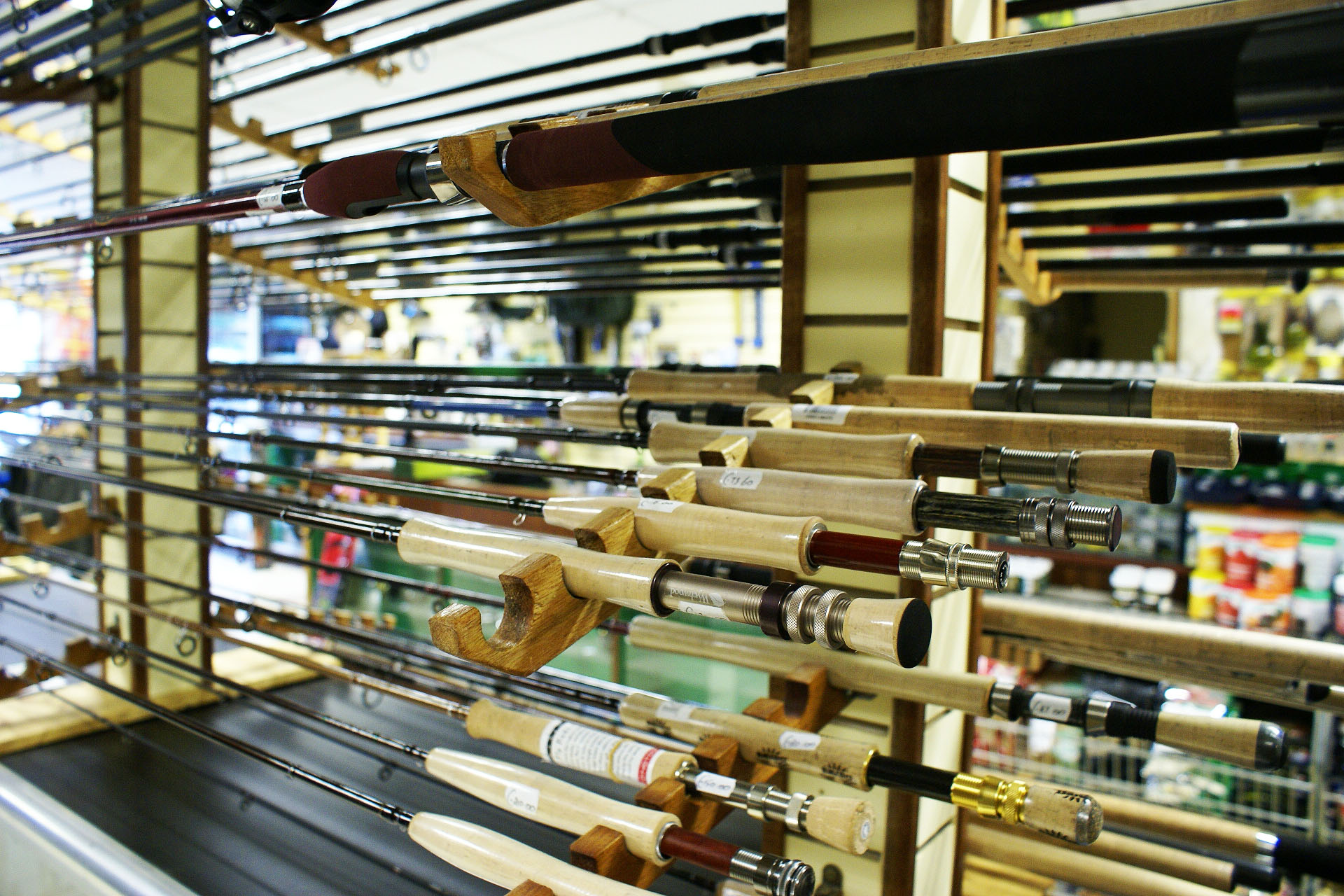 Sea fishing tackle shops near me for Fishing equipment stores